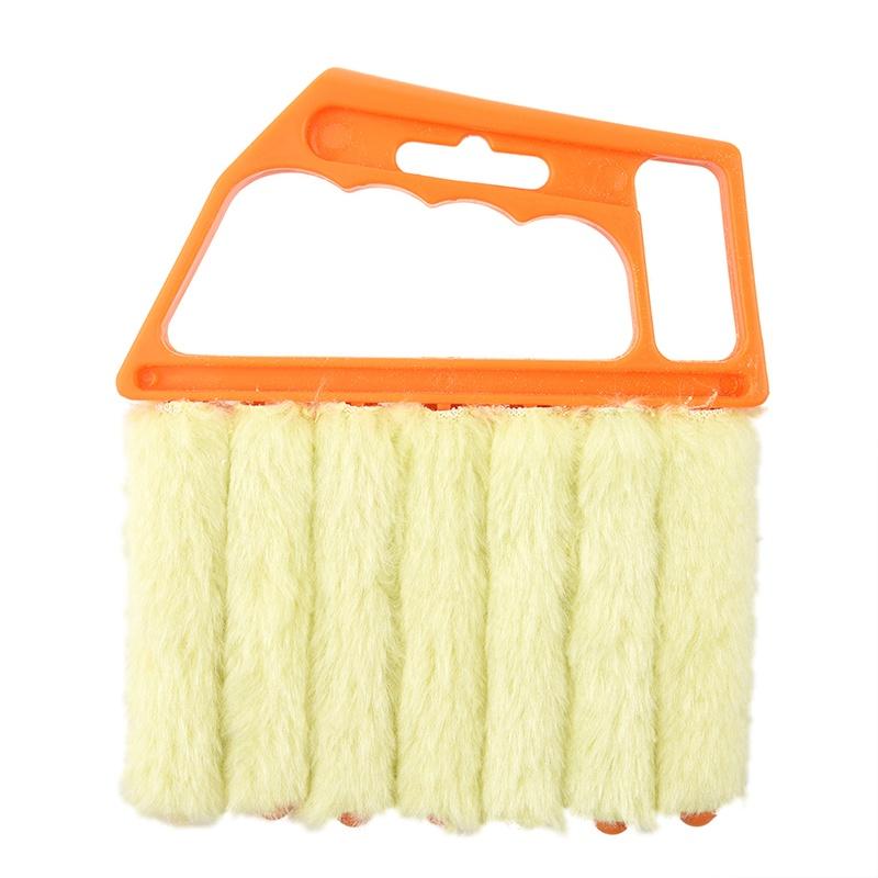 Image is loading Microfibre-Venetian-Blind-Brush-Window-Air-Conditioner- Duster-