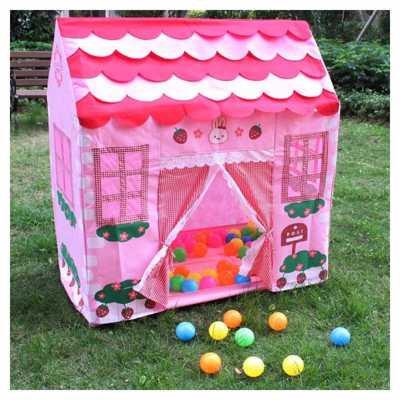 spielhaus maedchen stadt haus kinder geheimer garten rosa spiel zelt grossa f2v2 ebay. Black Bedroom Furniture Sets. Home Design Ideas