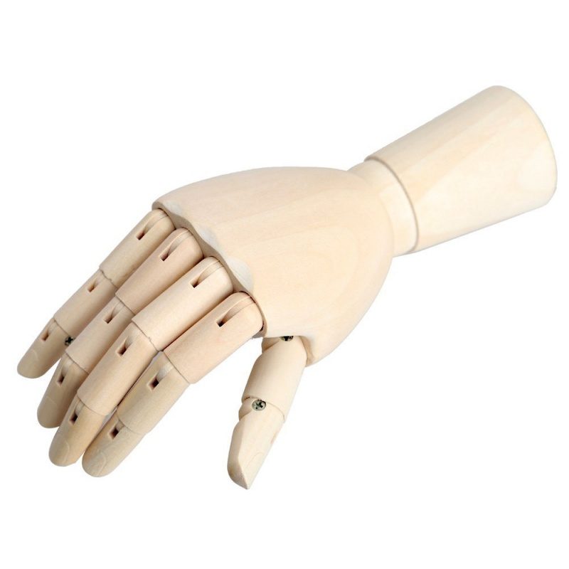 18-6cm-Wooden-Articulated-Right-Hand-Manikin-Model-Gift-Art-Alternatives-J4H3