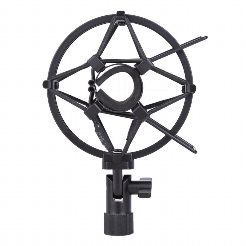 miniphone-Shock-Mount-25MM-For-23MM-27MM-Diameter-Condenser-Mic-Black-W4L8 thumbnail 3