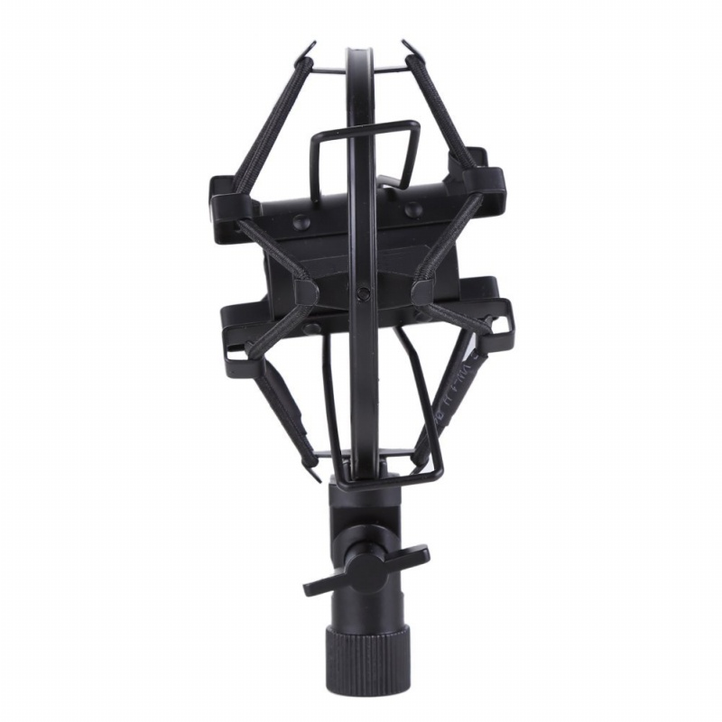 miniphone-Shock-Mount-25MM-For-23MM-27MM-Diameter-Condenser-Mic-Black-W4L8 thumbnail 5