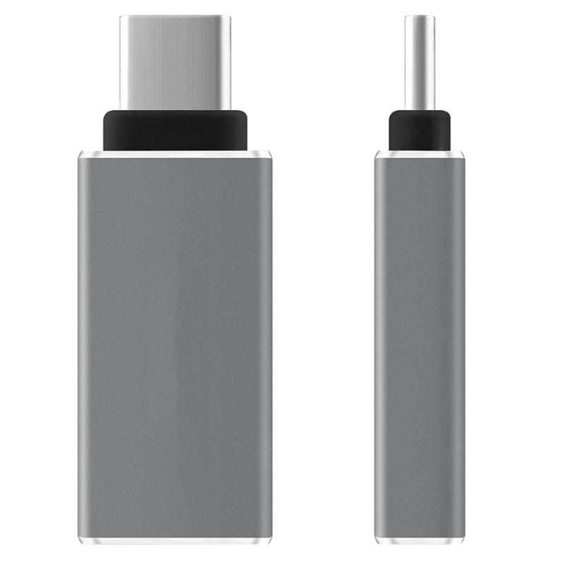 USB-C-Type-C-Type-C-USB-3-1-A-USB-3-0-Type-A-Male-to-Female-Converter-Adapt-F4E3 miniatura 4