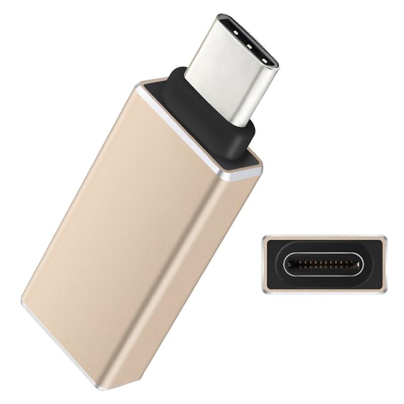 USB-C-Type-C-Type-C-USB-3-1-A-USB-3-0-Type-A-Male-to-Female-Converter-Adapt-F4E3 miniatura 9