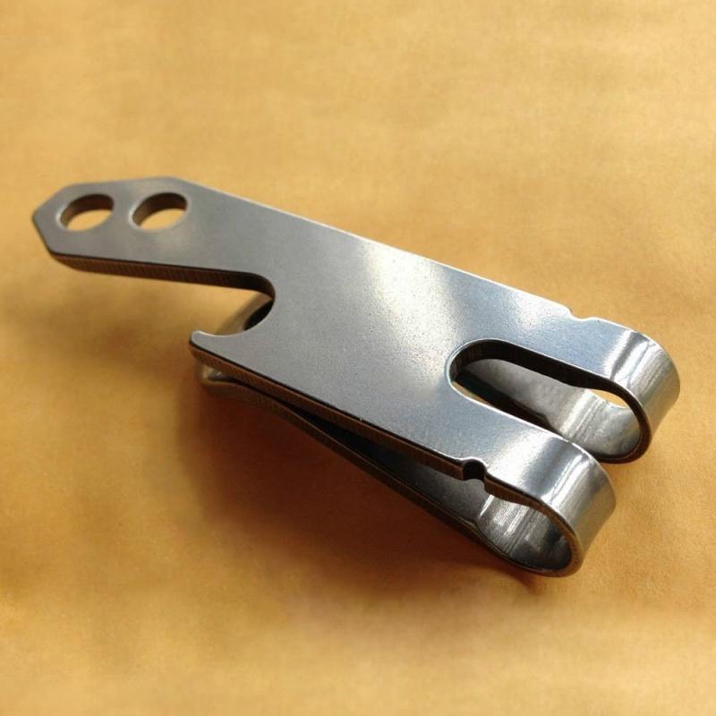 Acier-inoxydable-EDC-outil-Multifonctionnel-ceinture-porte-cles-Clip-ouvre-bo-CR miniature 3