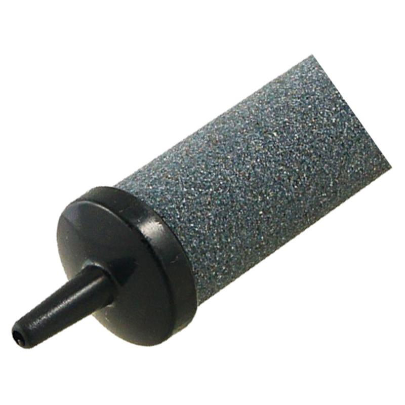 Negro-Gris-Piedras-de-burbuja-de-aire-de-acuario-de-peces-de-forma-de-cilin-F6P4