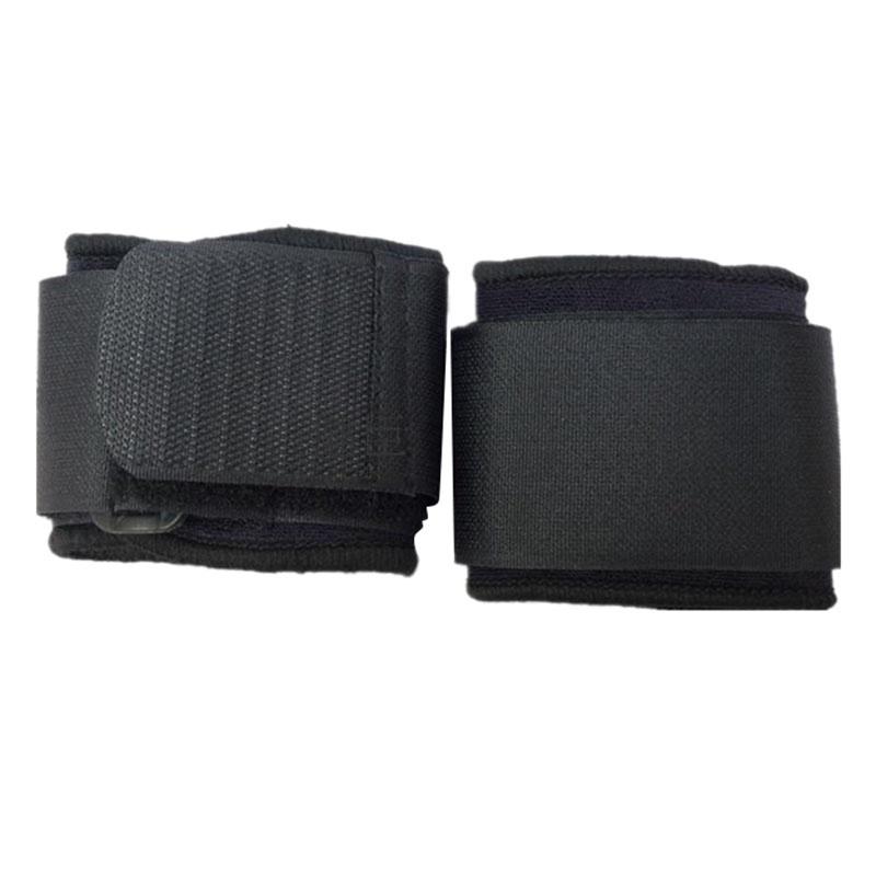 Adult-Black-Neoprene-Wrap-Compression-Wrist-Brace-Support-L3D3 miniatura 3