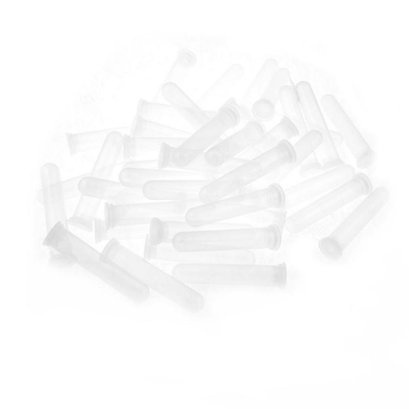 50-piezas-Claro-Blanco-Plastico-20ml-capacida-Tubo-de-centrifuga-Tapas-C3S6