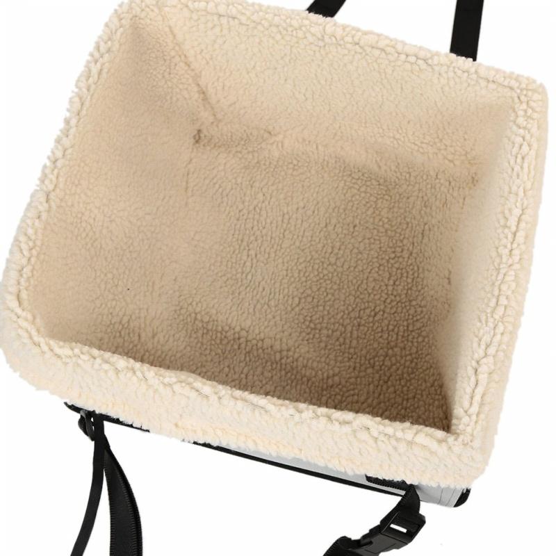 Impermeable-Facil-Plegable-Mascota-Portador-De-Asiento-De-Coche-Asiento-de-Coche-para-Pequenos-D