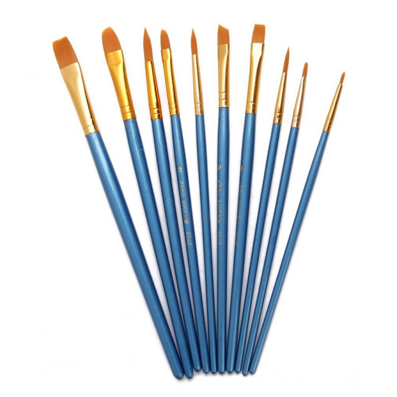 10 Pieces Brosse Multifonctionnelles En Nylon De Tailles Differentes Pour P L5o1