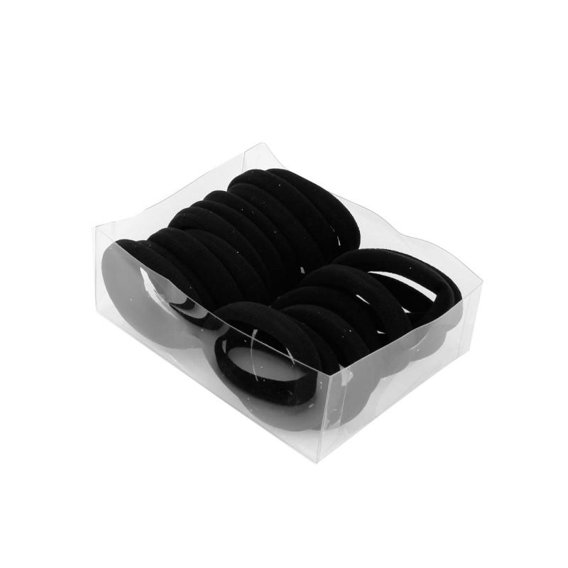 Banda-de-lazo-de-pelo-de-goma-elastica-envuelta-de-nylon-girs-negro-de-senora-20