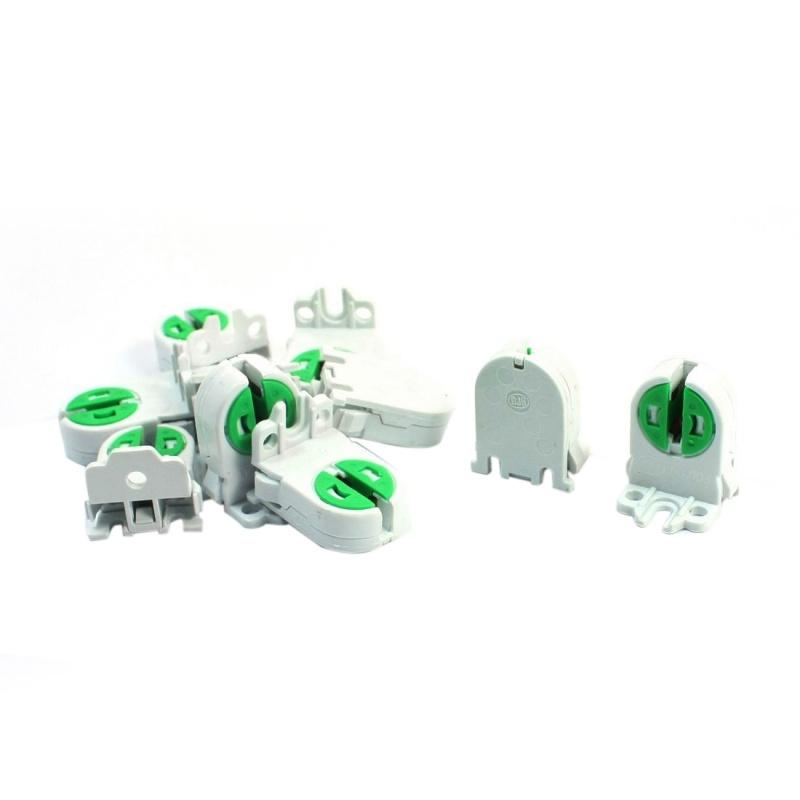 4X-10Pcs-Dual-Terminals-T5-T4-Fluorescent-Tube-Bulb-Lamp-Holder-Socket-A1B8-PF