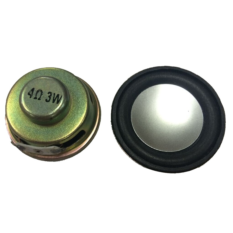 Sustituci/ón de piezas de 40 mm de di/ámetro interno im/án redondo de altavoz de 4 ohmios 2W