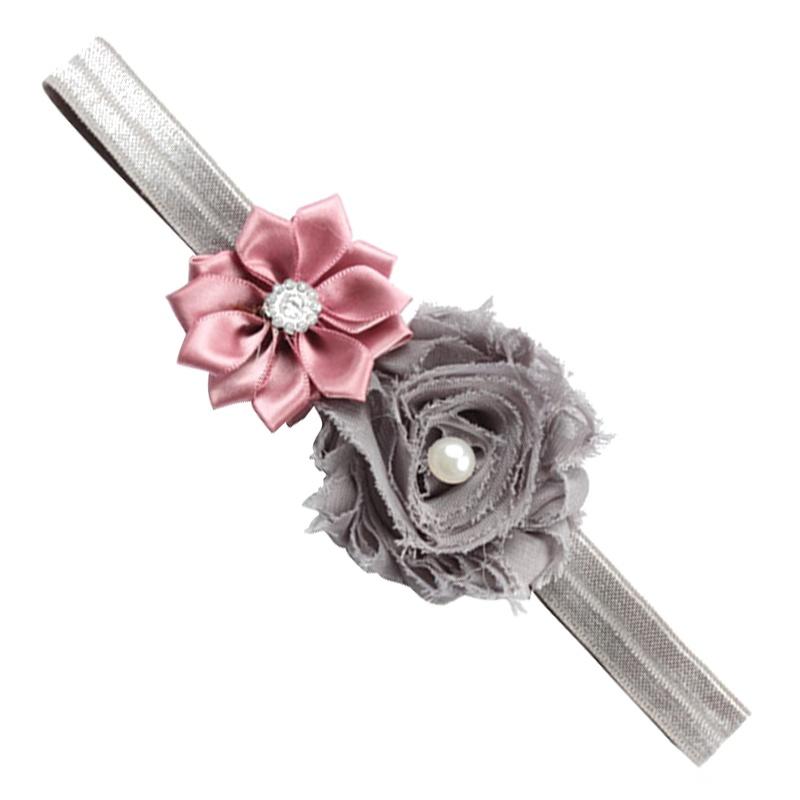1 pieza venda de arco de pelo de cabeza de patron de flor para nino ...