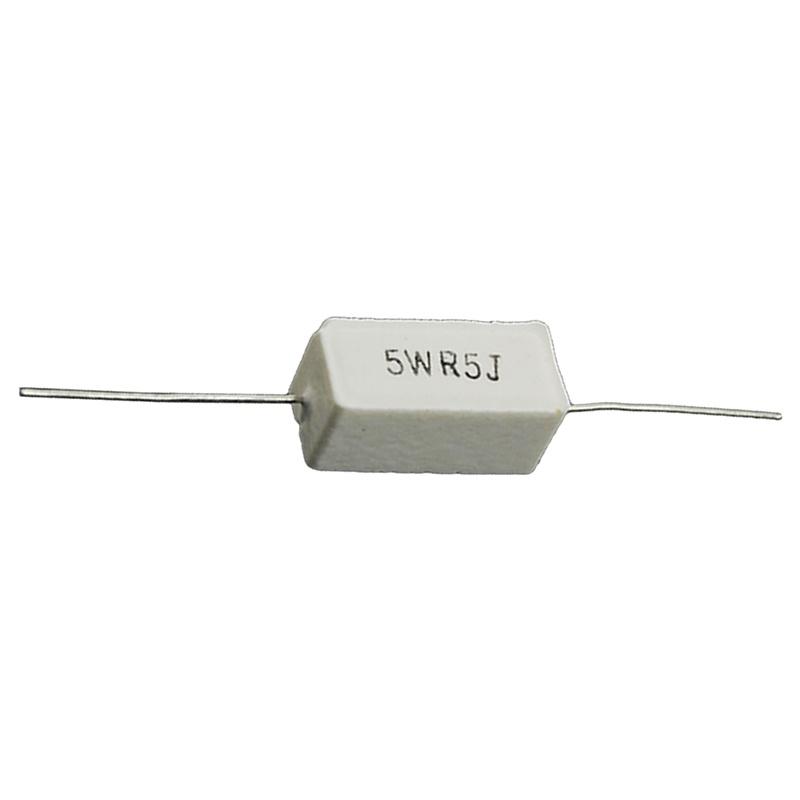 10-piezas-resistor-de-cemento-de-ceramica-de-plomo-axial-de-0-5-Ohm-5W-M3H8