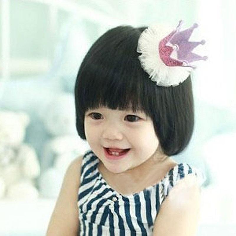 Suess Schnee Garn Prinzessin Baby Haar Cs Haarspange Rosa Q7X9 G3 G3