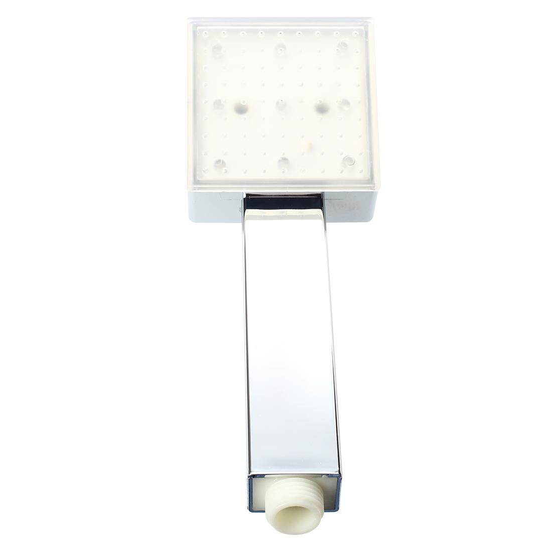 led duschkopf duschbrause brausekopf handbrause farbwechsel verchromt de ebay. Black Bedroom Furniture Sets. Home Design Ideas