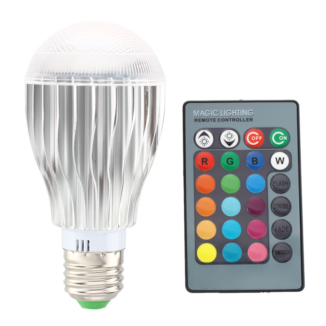 e27 9w rgb bunte led birne farbwechsel lampe licht 230v mit fernbedienung m9 ebay. Black Bedroom Furniture Sets. Home Design Ideas