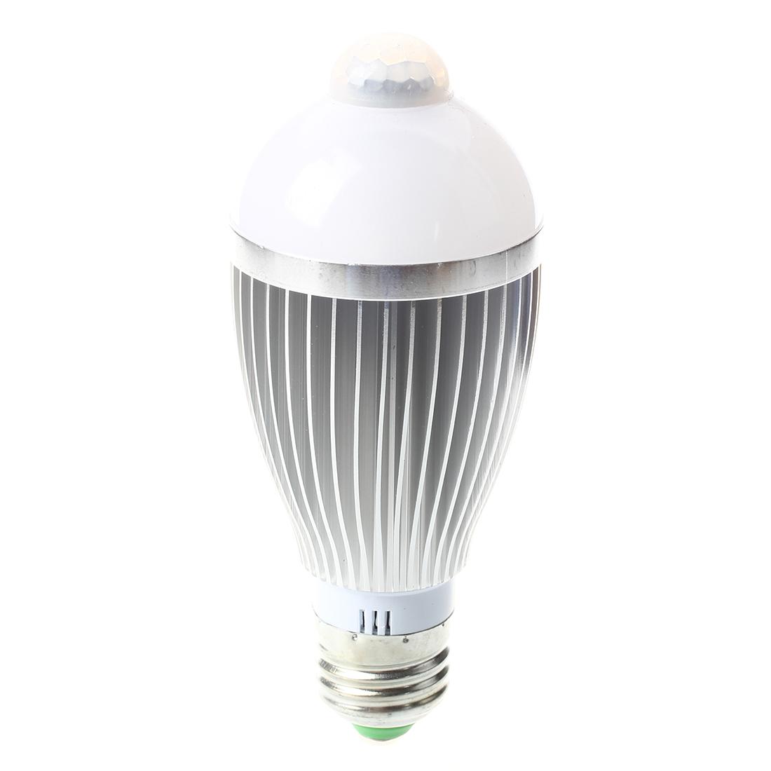 2x e27 ir bewegungsmelder a g6 led birne lampe 6w 600lm licht a1. Black Bedroom Furniture Sets. Home Design Ideas
