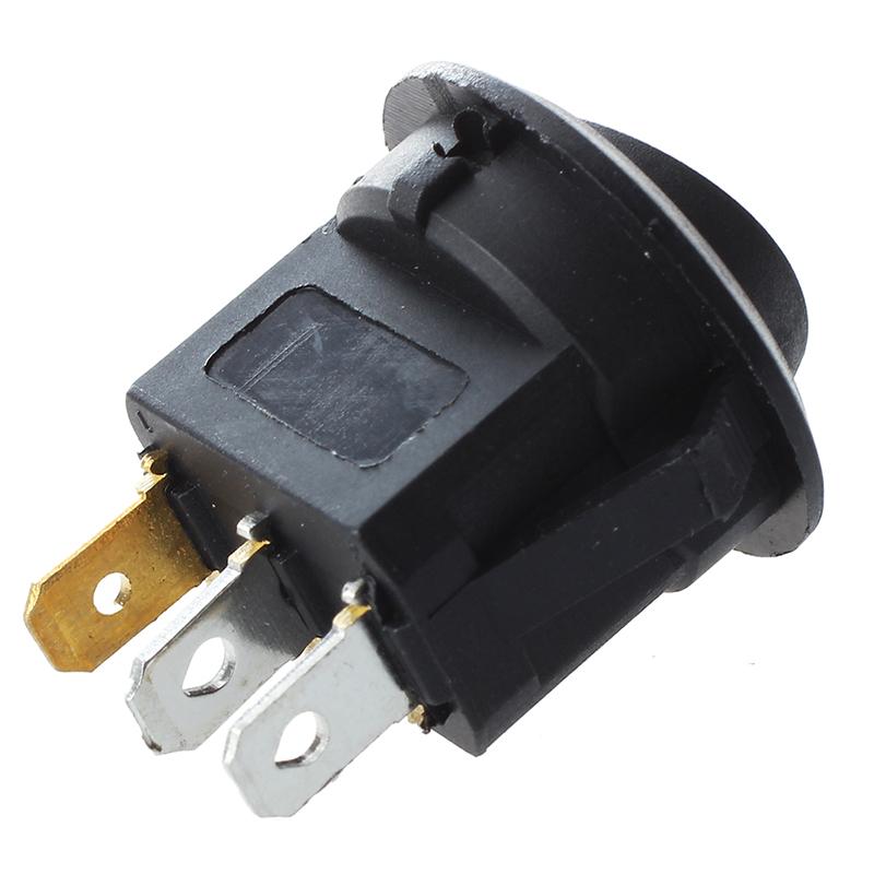 4X-4-piezas-Interruptor-de-balancin-con-un-indicador-LED-Verde-M1Z4-S6