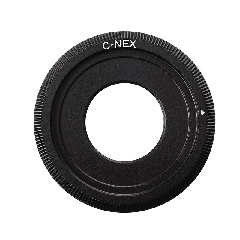 Anillo-de-Lente-Adaptador-C-Mount-Negro-para-Camara-Sony-NEX-5-NEX-3-A8S4