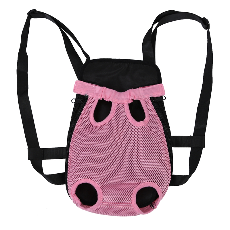 10X(Ventral Carry Bag For Dog Cat Pet M Pink V6X3)