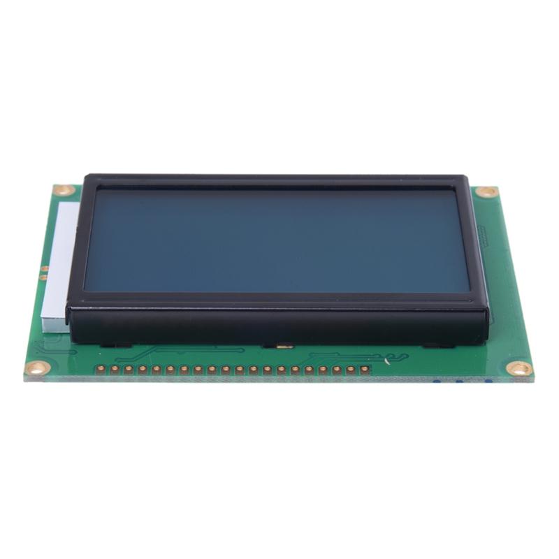 2X-12864-128x-64-LCD-Module-Blue-Backlight-T4J9