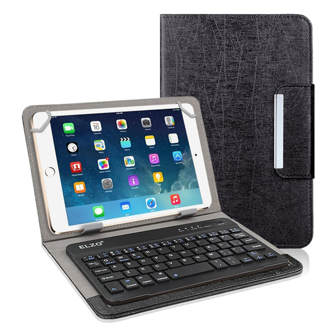 "7"" 8"" PU Leather Bluetooth Keyboard Case / Wireless"