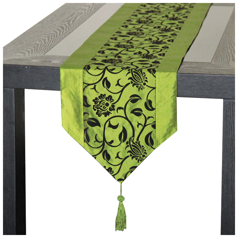 Retro Funky Design Table Runner Make Your Home Modern And Special One Tassel On Each End Of The For Good Looking