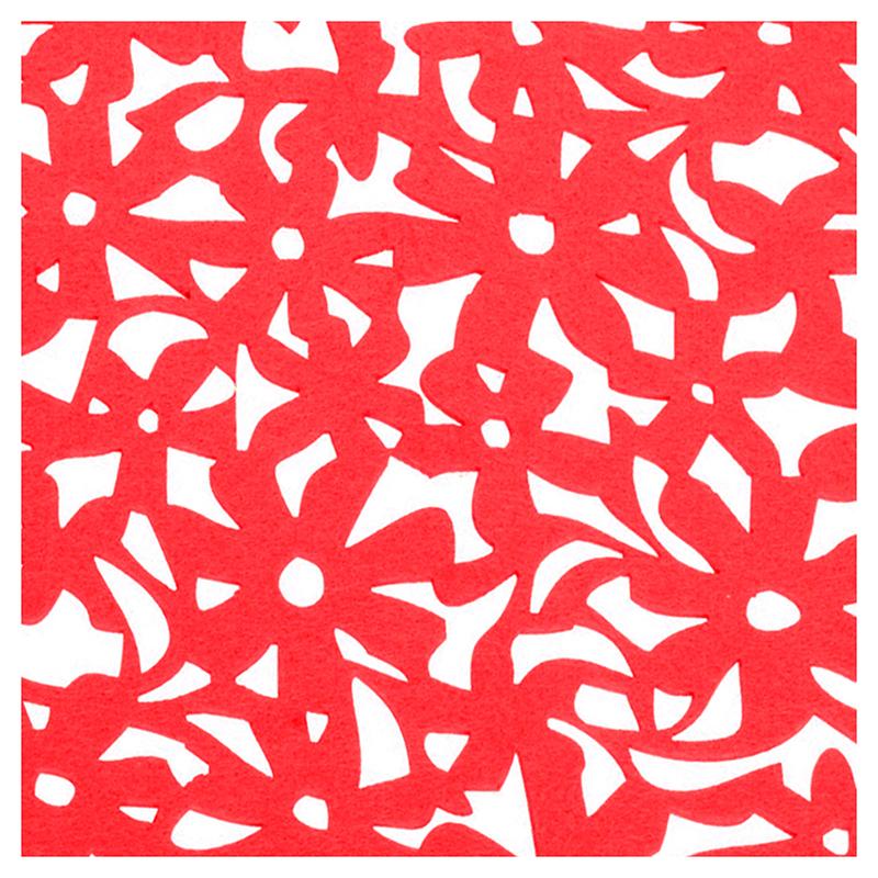 Round-Laser-Cut-Flower-Felt-Placemats-Kitchen-Dinner-Table-Cup-Mats-Cushion-A8E2 thumbnail 4