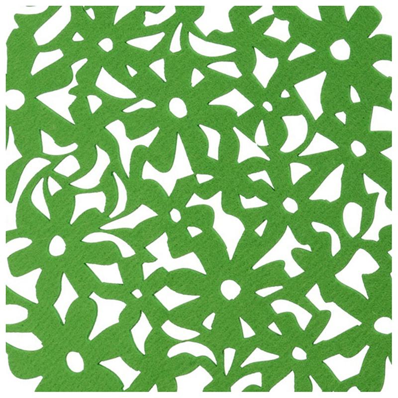 Round-Laser-Cut-Flower-Felt-Placemats-Kitchen-Dinner-Table-Cup-Mats-Cushion-A8E2 thumbnail 16