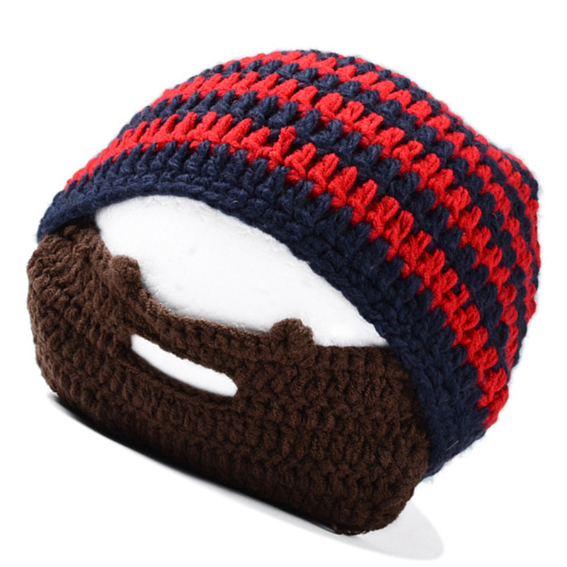 dec32d19162 Mask Ski Cap roman knight octopus Cool Funny beanies Gift(red   Navy ...