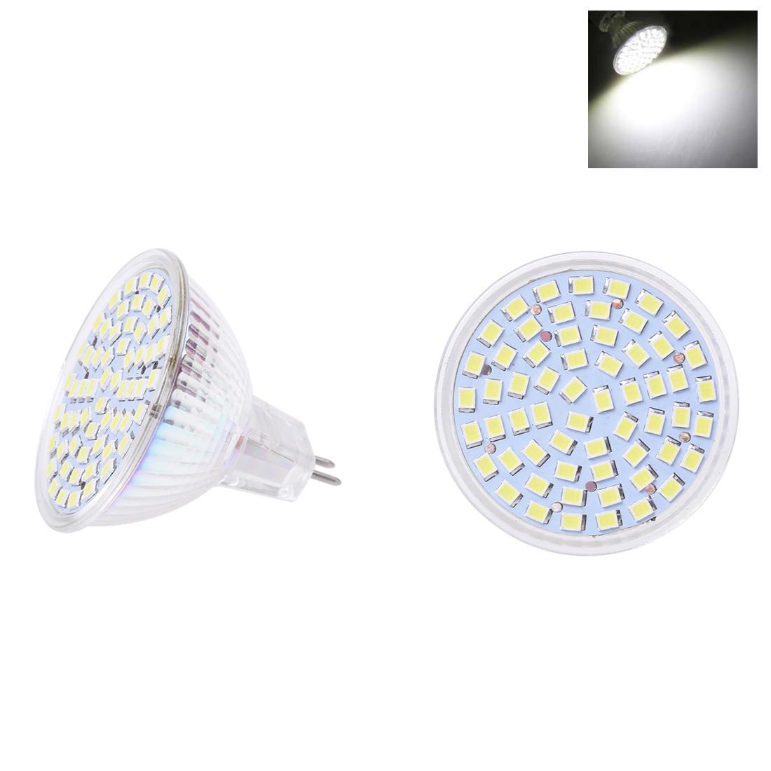 6 x g gu gx5 3 mr16 3528 smd 60 led lampe 4w 12v weiss de ebay. Black Bedroom Furniture Sets. Home Design Ideas