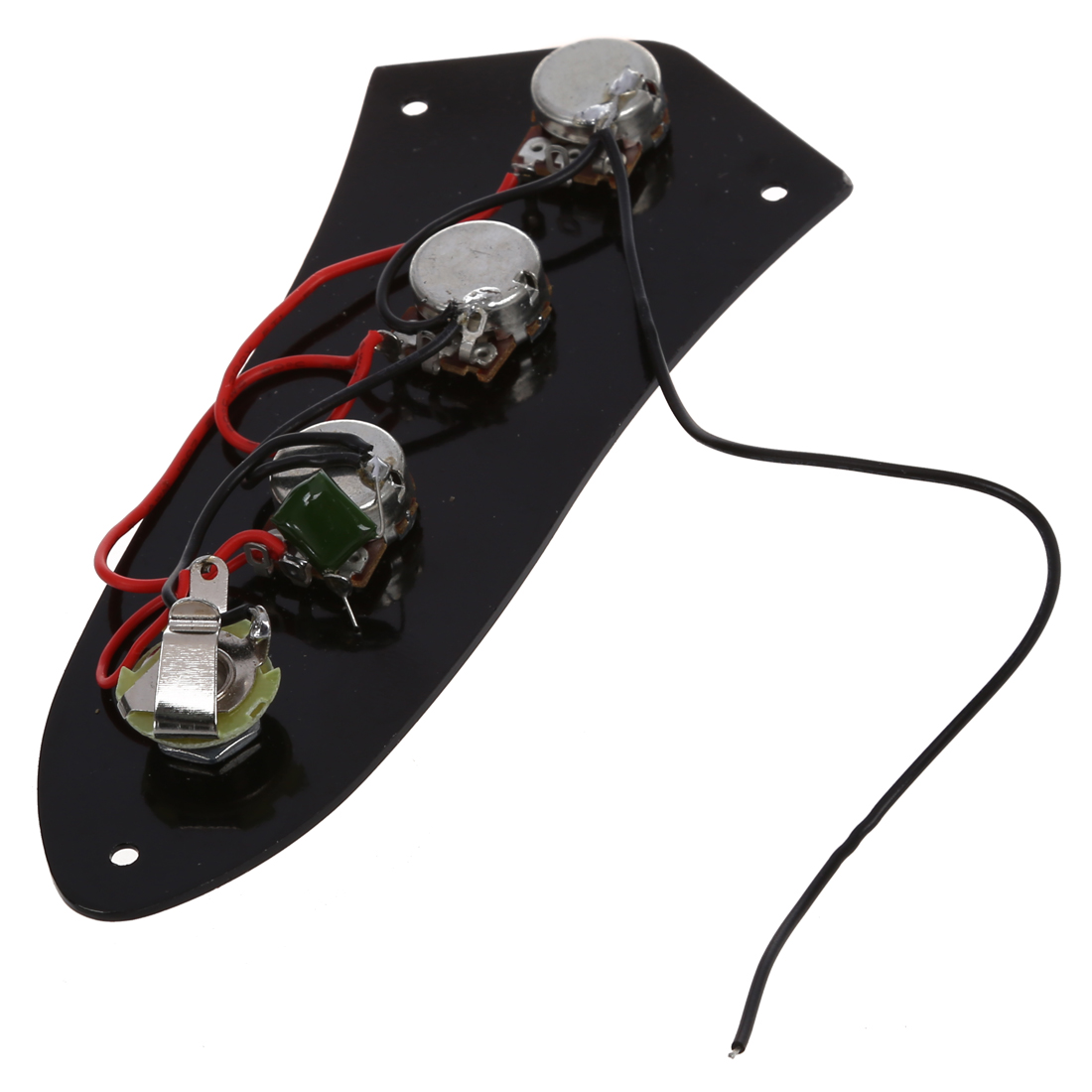 Control Plate For Jazz Bass Electric Bass Guitars