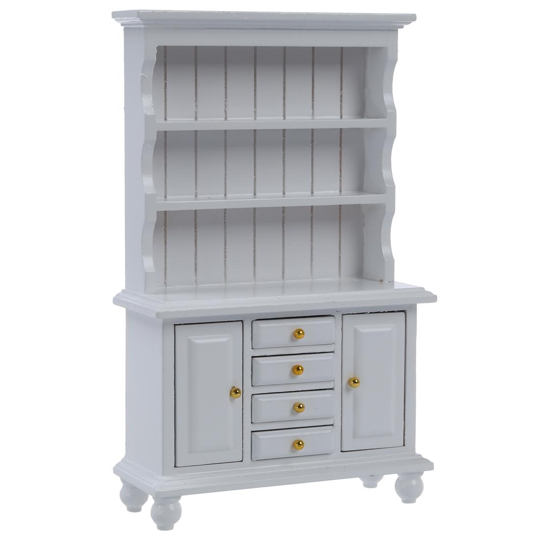 1/12 Dollhouse Miniature Furniture Multifunction Wood