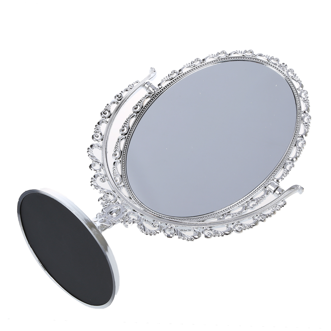 silver bathroom mirror silver vanity make up cosmetic table bathroom mirror on 14405