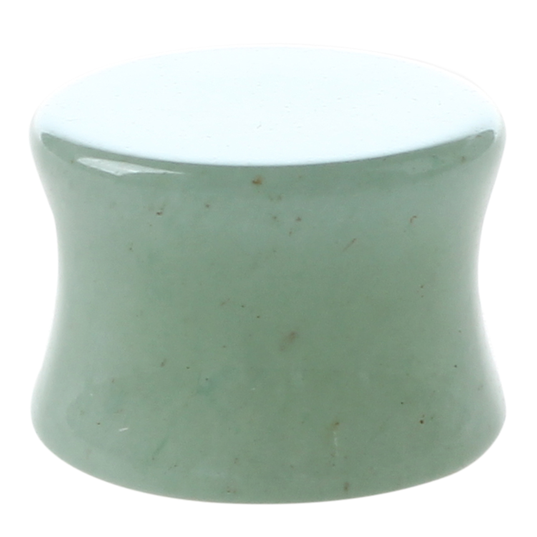 1-Pair-of-Solid-Jade-Stone-Organic-Ear-Plugs-Gauges-Rings-Tunnels-Piercing-Y1X6 thumbnail 4