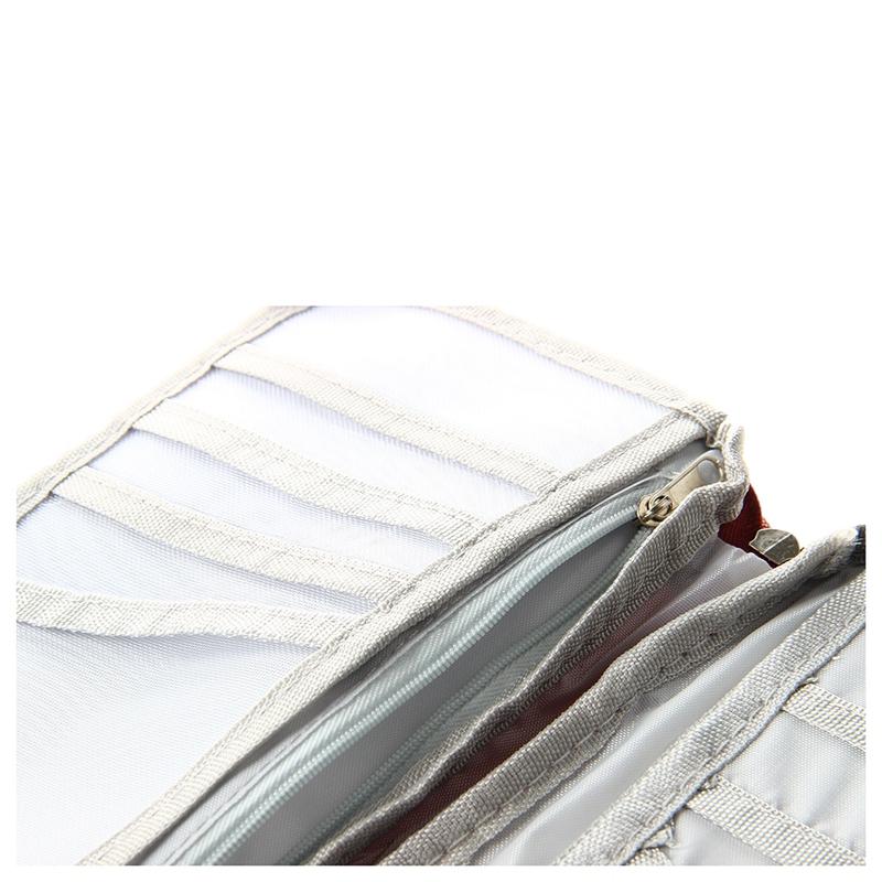 rot reisebrieftasche mit verschluss zip document tasche beutel portmonee fu i5c3 ebay. Black Bedroom Furniture Sets. Home Design Ideas