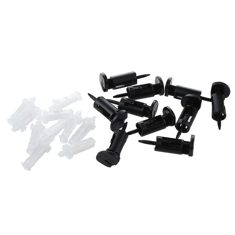 10-Piezas-de-Clip-de-montaje-de-plastico-para-Intel-4-vias-enfriadores-de-CP-4T9