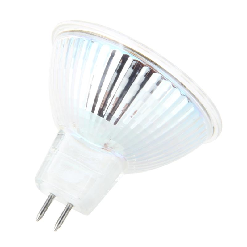 1X GU5.3 MR16 3W 60 LED 3528 SMD Lampe Gluehlampe Weiss Spot-Licht 12V Warm K7M7