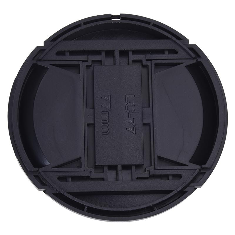 Univeral-77mm-Cubierta-tapa-de-lente-frontal-para-Camara-DSLR-SLR-K5O7