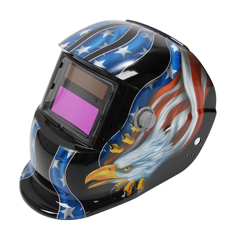 Solar Auto Darkening Welding Helmet Mig Tig Arc Milling Welders Mask