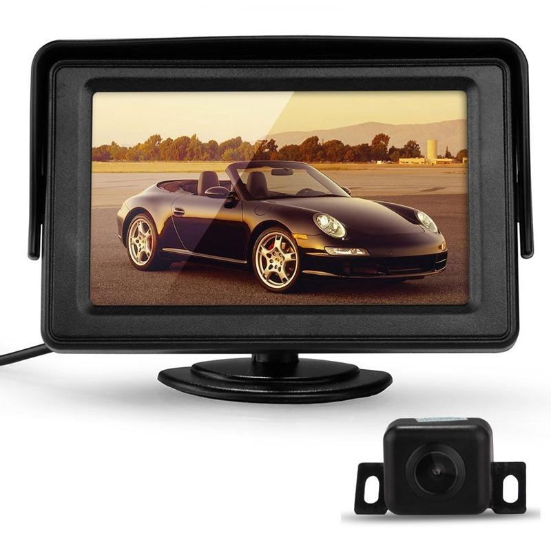 4X-4-3-pulgadas-TFT-LCD-Monitor-Camara-Vision-nocturna-Coche-Marcha-atras-K-PX