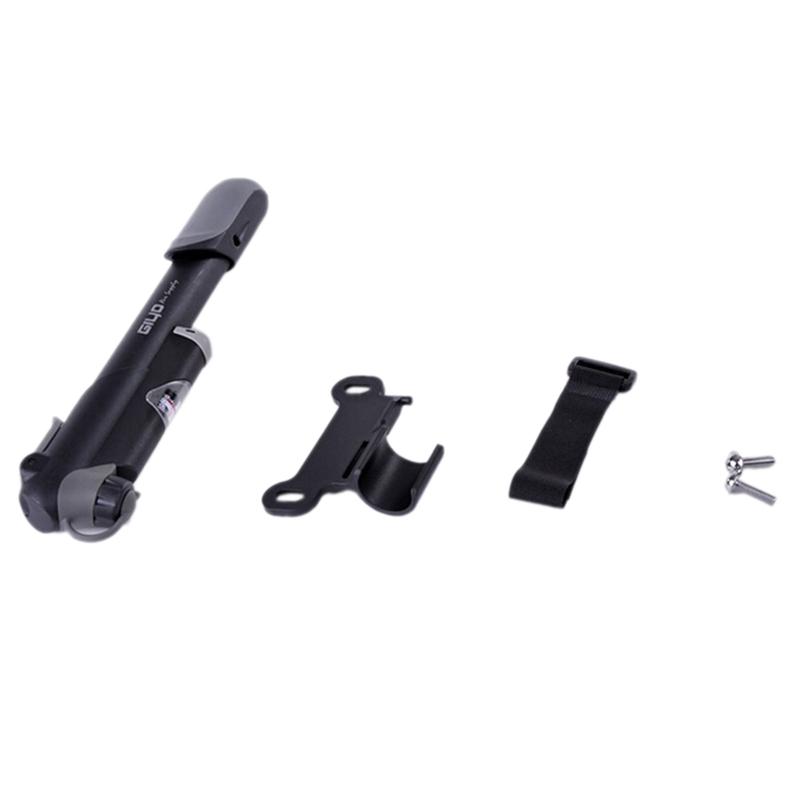 GIYO-Plastic-Mini-Portable-Cycling-Bike-Bicycle-Tire-Inflator-Air-Pump-with-B3P1 thumbnail 3