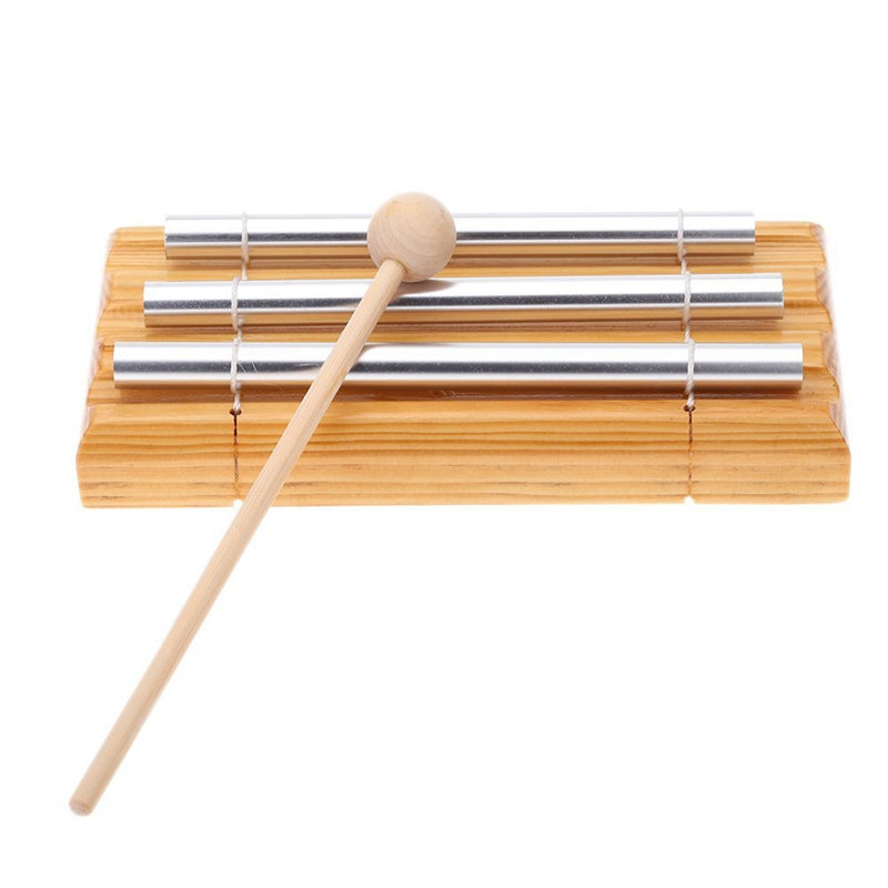 Bells & Chimes Energie Chime Drei-ton Mit Mallet Exquisite Kinder Spieluhr Schlaginstrumentj6z8 Good For Antipyretic And Throat Soother
