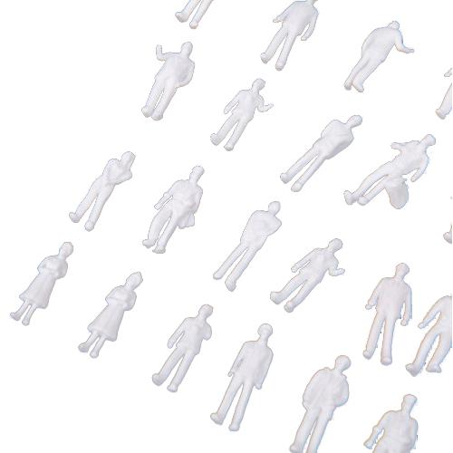 100pcs-HO-Scale-1-100-White-Model-People-Unpainted-Train-Figures-J7N8