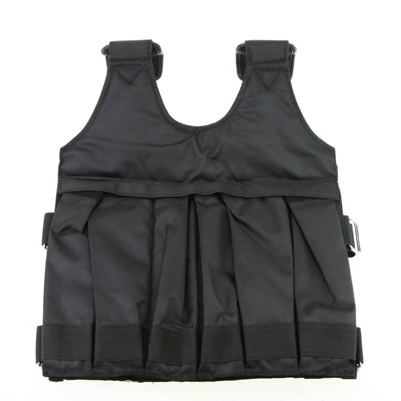 4X(SUTEN Max Loading 50 kg Adjustable Weight Vest Weight Training Exercise B7Y1)