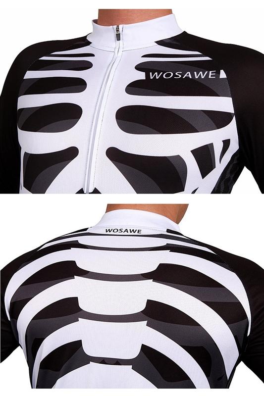 6X(WOSAWE  Herren Breathable Cycling Jersey 3D 3D 3D coat Q6P8) f49ffe