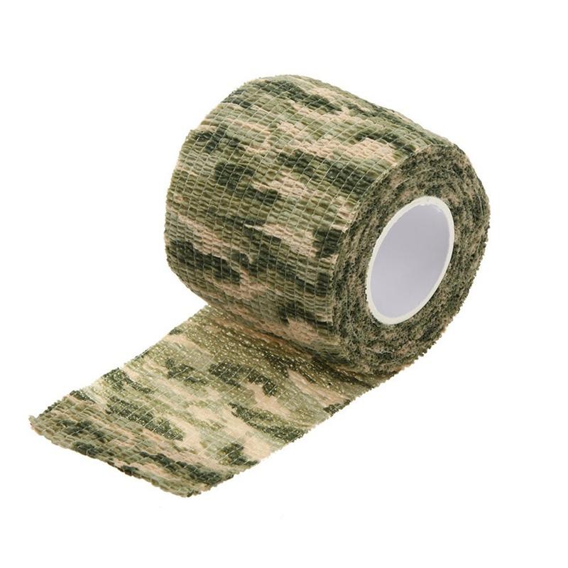 3X Ruban Furtif De Camouflage De Chasse De Pistolet d/'Emballage Camouflage De 2T
