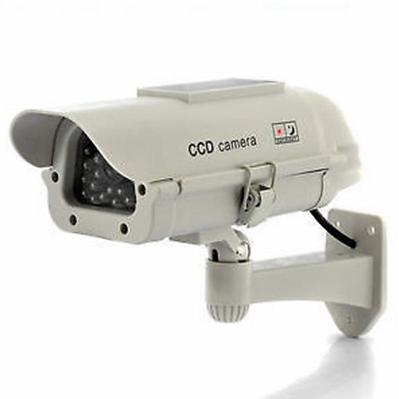 2-pcs-en-plein-air-Dummy-Camera-d-039-energie-solaire-LED-blanche-sans-fil-IR-D-H3N5