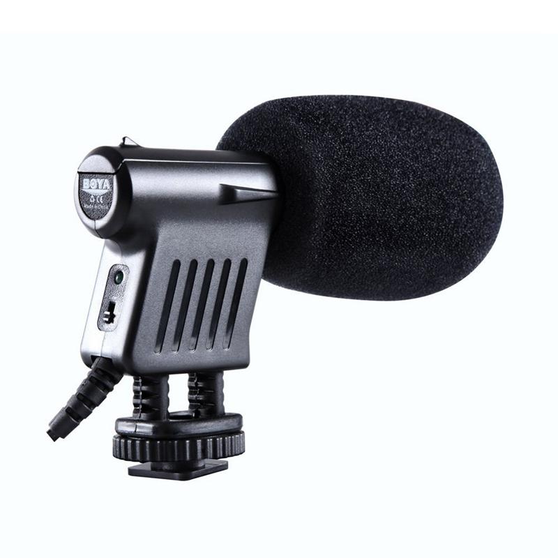 10X-BOYA-BY-VM01-Video-Condenser-miniphone-for-Nikon-DSLR-Camcorder-Q9U1 thumbnail 4